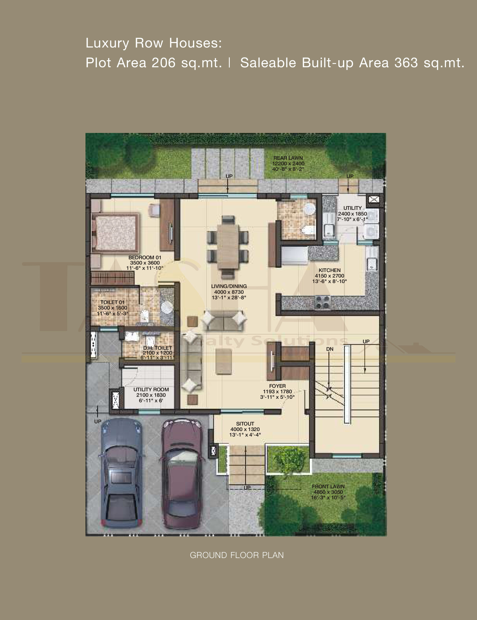 Sobha International City Gurgaon FLOOR PLAN