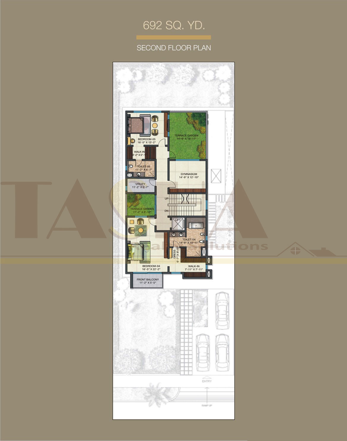 Sobha International City Dwarka Expressway FLOOR PLAN